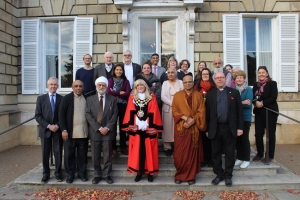 Richmond Inter Faith Forum with Richmond Mayor Lisa Blackmore at York House Twickenham 13 November 2017