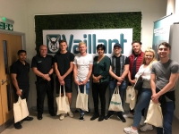 Plumbing apprentices train with Vaillant