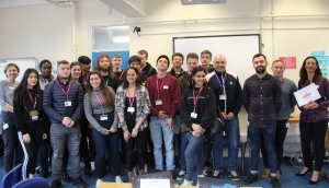 Catering students learn from industry professionals and secure employment with Fuller's