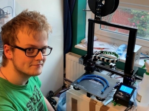 RuTC student prints 3D PPE for NHS