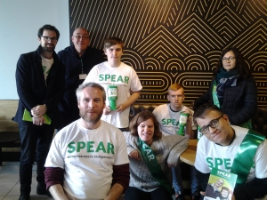 Supported Learning students raise over £1k for SPEAR