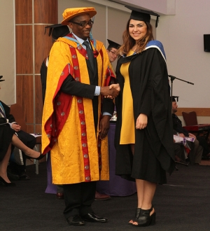 Health & Social Care Teacher Receives University Principal's Prize