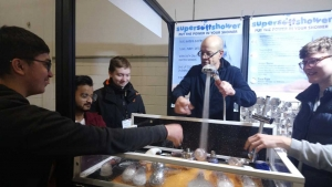 Students discuss future of plumbing at exhibition