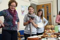 MacMillan coffee morning raises over £400