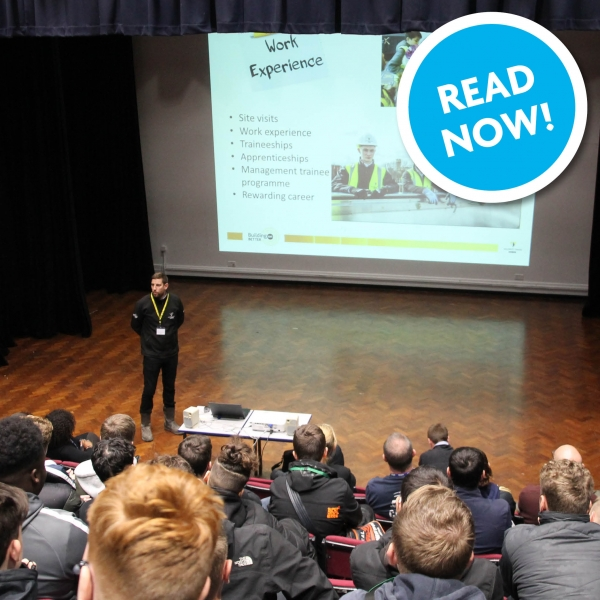 Willmott Dixon Talk Futures with Construction Crafts Students