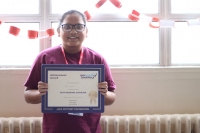 Autumn Term Jack Petchey Awards for outstanding RuTC students