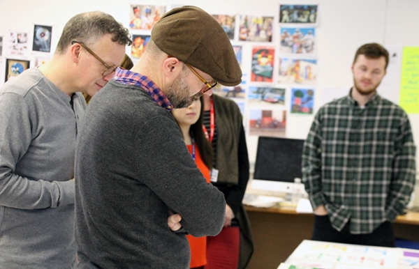 "Haymarket Media Group ""very impressed"" with Standard of RuTC HNC Graphic Design Students Work"