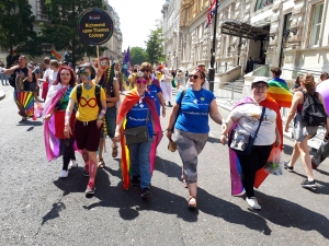 Richmond Students Round Off Pride Month Celebrations with Pride in London Parade