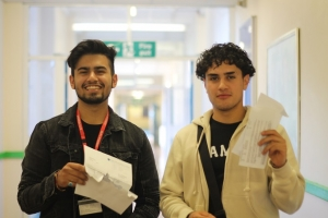 Students Celebrate Success on A Level Results Day