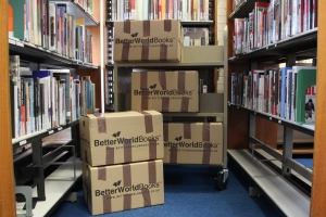 Book Donations for Better World Books