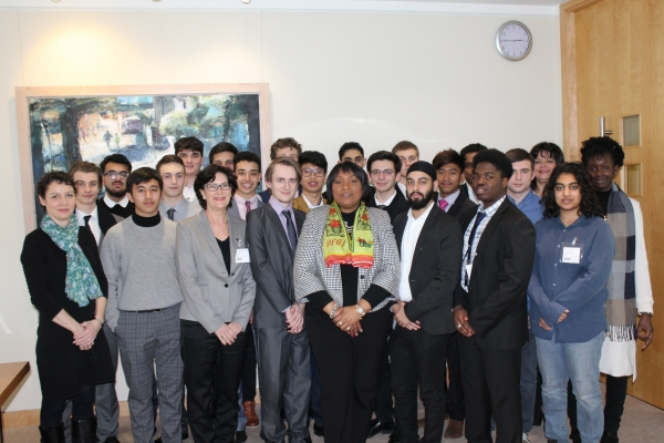 IT and Computing Students visit Barings Asset Management
