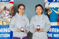 Silver for badminton duo