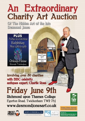 Extraordinary Charity Auction coming to Richmond upon Thames College