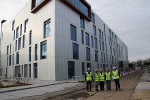 Twickenham MP Visits New College Building