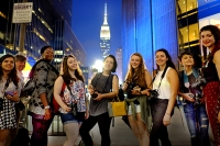 Photography students visit NYC