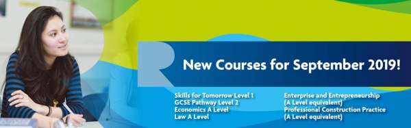 New Courses for September 2019!