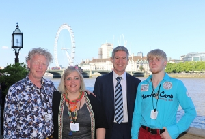 RuTC Student wins Best Learner Award at House of Lords