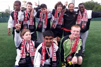 Football triumph for supported learning