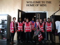 Engineering students visit BMW and Nuclear Power Plant