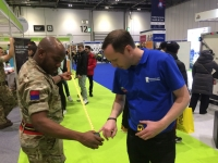 Engaging RuTC stand at Skills London 2019