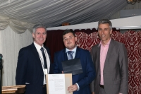 Bench Joinery Student Receives the COSLP Best Learner Award