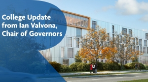 Update from Ian Valvona, Chair of Governors at Richmond upon Thames College