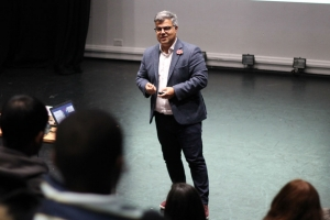Students' Union organises engaging Microsoft talk for Business students