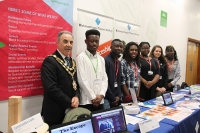 RuTC Students Support World of Work Roadshow