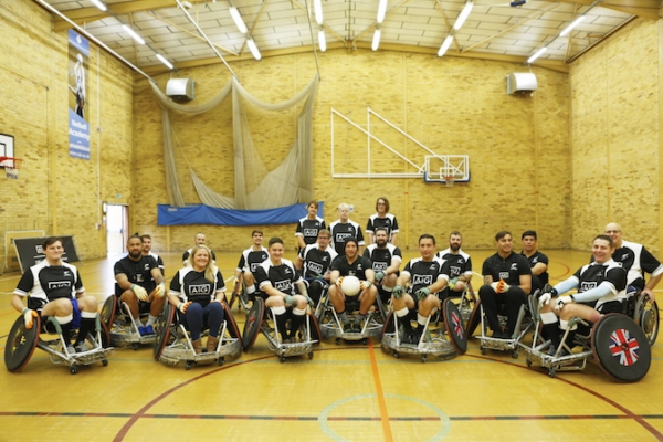 RuTC Hosts AIG's Wheelchair Rugby Event with Help for Heroes Team and Maori All Blacks