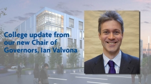 College update from Ian Valvona, Chair of Governors at Richmond upon Thames College