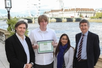 Charles wins Best Learner prize