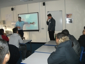 RuTC Construction Students Visited by Leading Construction Company