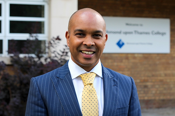 New Principal joins Richmond upon Thames College