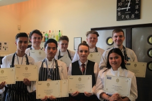 Success at Wessex Salon Culinaire Catering Competition