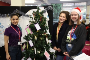Christmas fundraisers for Save the Children and Shooting Star Children's Hospices