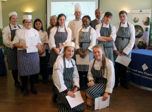 Local Schools Compete at Young Chef of the Year Competition at RuTC