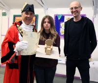 RuTC Student's Sculpture Design is Chosen for Local Dementia Friendly Park