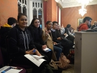 Politics students experience politics live at Twickenham Hustings