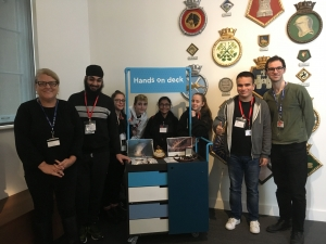 Supported Learning students visit National Maritime Museum