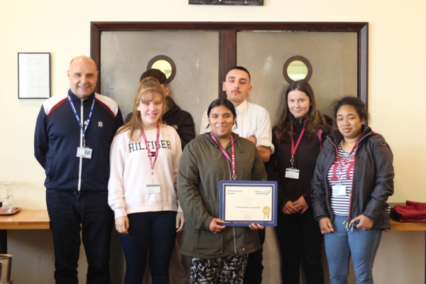 Jack Petchey Summer Term Award for Catering student Arany Yogeswaran