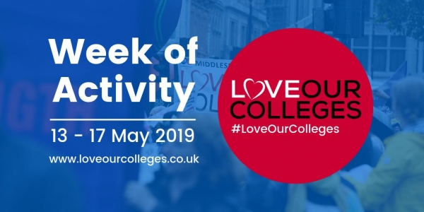 #LoveOurColleges Week of Activity