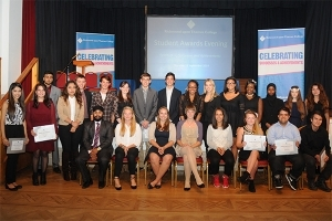 Students honoured at annual awards evening